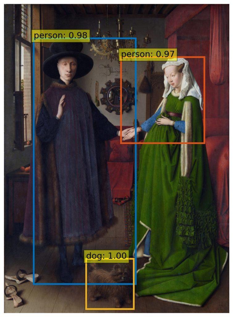 Jan van Eyck's Arnolfini Portrait (1434)